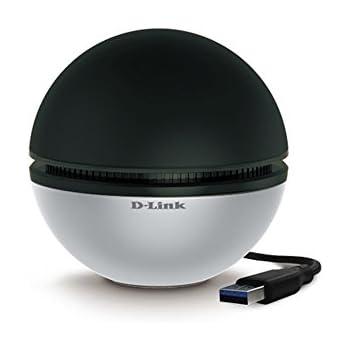 D-link DWA-192 Adaptateur USB 3.0 AC 1900mbps Noir/Gris
