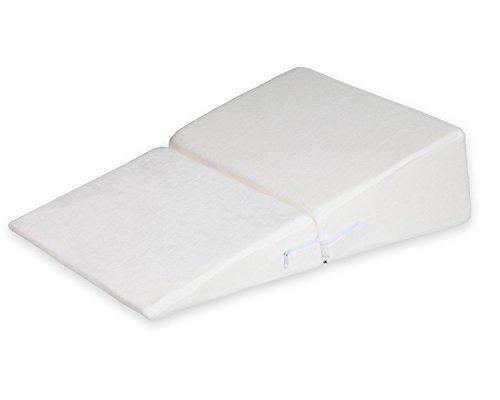 Ang Qi oreiller de lit - soutien dorsal parfait - oreiller de lecture - coussin cale dos pour le salon ou la chambre, pour la lecture assise décontractée - blanc