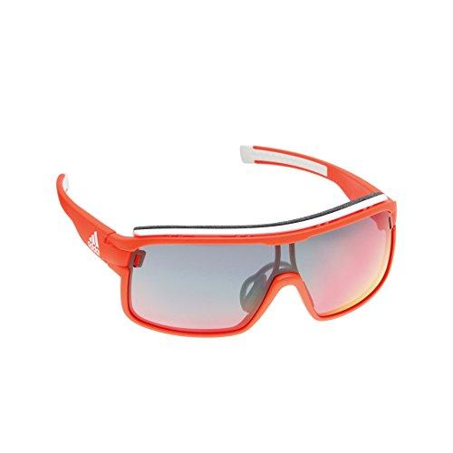 Adidas occhiali da sole zonyk pro l ad01 matte red/red mirror unisex