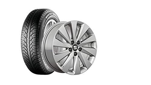 SEAT WKR Design 6,0x16 5/100/47 Alu-Komplettrad Gar. 205/60R16 96H XL, SEM Maste - S2056016MG2A
