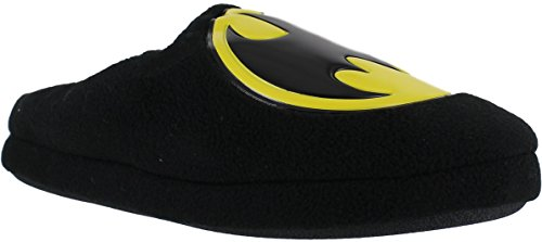 BATMAN Official Mens DC Mule Slip On Booties Ankle Boots Slippers