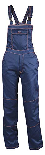Primo - Pantalones Peto Trabajo Hombre - Azul 54
