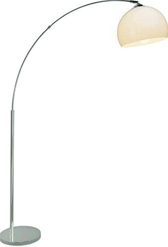 LED Stehleuchte E27 Standlampe 9 Watt Bogenleuchte Brilliant Bilbao HK12669C75