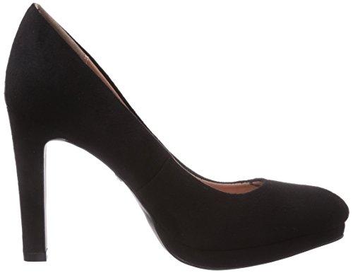 Buffalo - H748-1 P1804a, Scarpe col tacco Donna Nero (nero (black 01))