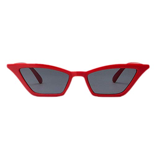 WERERT Sportbrille Sonnenbrillen Sunglasses Women Retro Colorful Transparent Colorful Fashion Cateye Sun Glasses Men Uv400