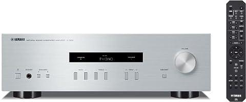 Yamaha A-S201 HiFi Stereo Verstrker mit Phono Eingang und 140 Watt je Kanal silber