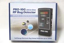 Espía Hawk Pro 10G es la 1GPS Tracker Finder y law-grade contador de vigilancia Bug barrido–profesional Handheld detección de todos los rastreadores GPS activos, teléfonos móviles