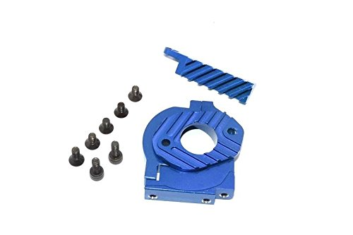 HPI Sport 3 Flux Tuning Teile Aluminium Motor Heat Sink Mount - 1 Set Blue