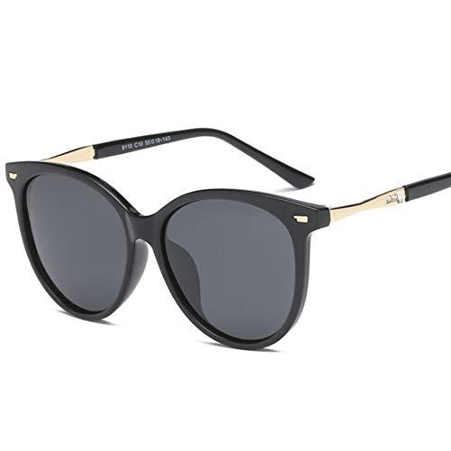 Easy Go Shopping Sonnenbrillen Herren und Damen Design Ski Baseball Golf Radfahren Angeln Jogging Fahren UV400 Schutz. Sonnenbrillen und Flacher Spiegel (Farbe : Schwarz)