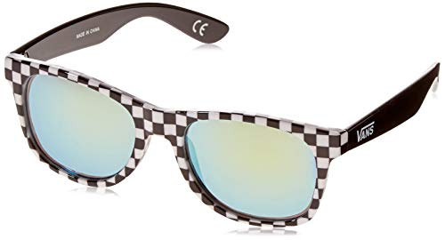 Vans Herren SPICOLI 4 SHADES Sonnenbrille, Mehrfarbig (Black White Check), 50