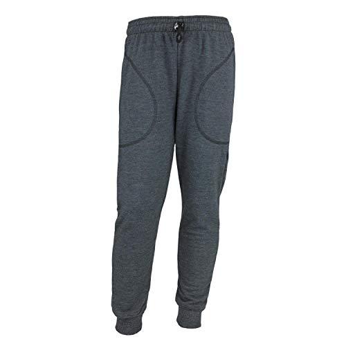 TupTam Jungen Jogginghose Unifarben Jogger Baumwolle, Farbe: Graphit Meliert, Größe: 104