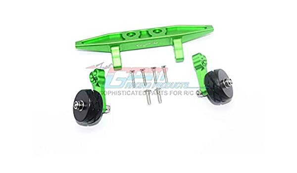 Traxxas Rustler 4X4 VXL 1Pr Set Green Upgrade Pi/èces Aluminum Rear Adjustable Shocks 102mm 67076-4