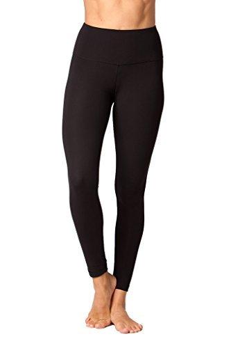 40a7892720 Yogalicious High Waist Ultra Soft Lightweight Leggings - High Rise Yoga  Pants - Black - Small