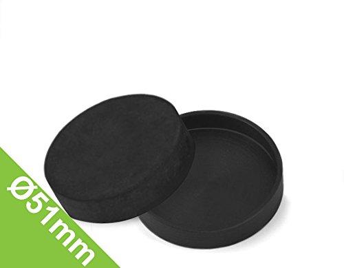 Gummi-Kappe Ø 51 mm, Manschette zum Schutz von Oberflächen (Gummi-kappe)