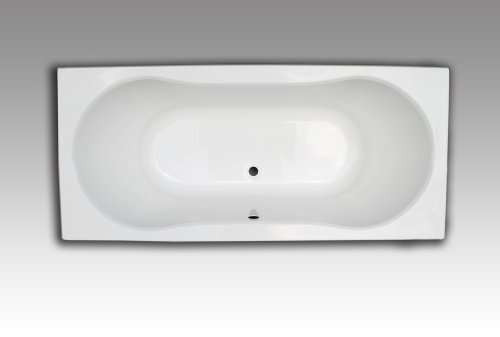 Price comparison product image Hoesch Tacna Acrylic Rectangular Bathtub 180 x 80 cm