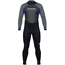 Hyperflex Combinaisons de plongée pour Homme accès 3/2mm Full Suit, Homme, Bleu
