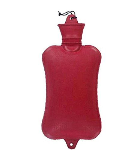 Duckback ORIGINAL Hot Water Bag Red Non Electrical 2L - Ideal for Back pain/body ache/stomach NON-ELECTRICAL 2 L Hot Water Bag (Red)
