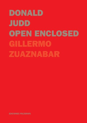 Donald Judd. Open Enclosed