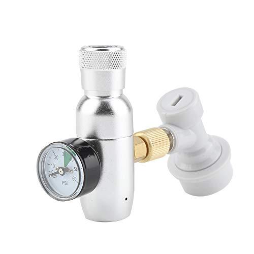 16g regler CO2 Ladegerät Kit Gas Disconnect Edelstahl Bier Kegerator Home Entwurf Bierflasche Homebrew Zubehör MEHRWEG VERPACKUNG(0-60PSI) -
