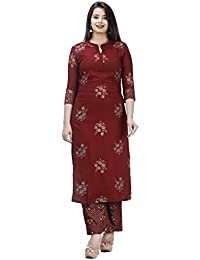 Meera Fab Women Printed Kurta with Palazzo