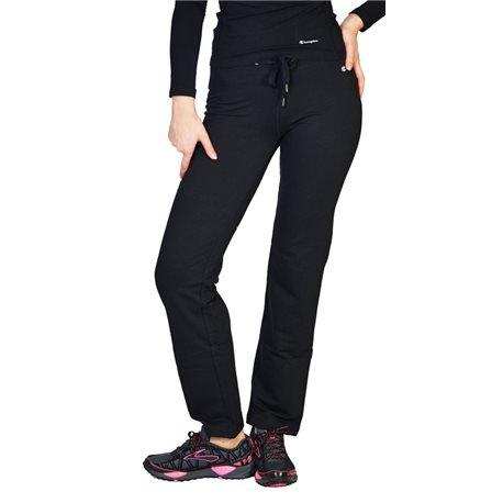 Secondo le donne s champion-Pantaloni sportivi nero small