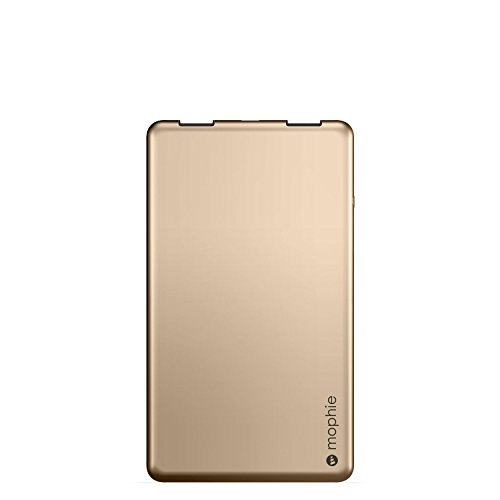 Foto Mophie Powerstation 3X - power banks (USB, Gold, Aluminium, Universal)