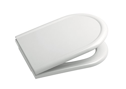 Roca A801922004 asiento y tapa caída amortiguada Civic blanco