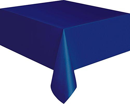 Kunststoff-Tischdecke, 2,74 x 1,37 - Kunststoff-tischdecke Tisch Blaue Für