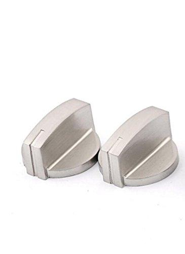 Herd Range-schalter (exoh Nützliche Metall Herd Backofen Herd Hitze Fire Einstellknopf Range Schalter Knopf, (4Stück))
