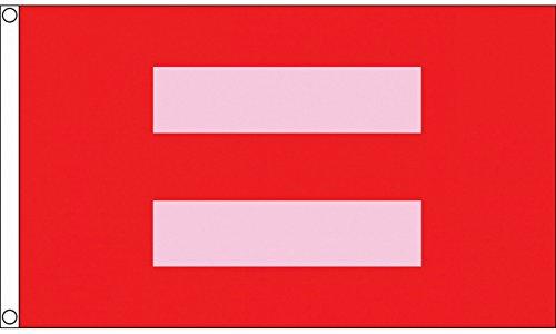 Menschenrechte Kampagne LGBT Marriage Equality 5'x3' (150cm x 90cm) Flagge -