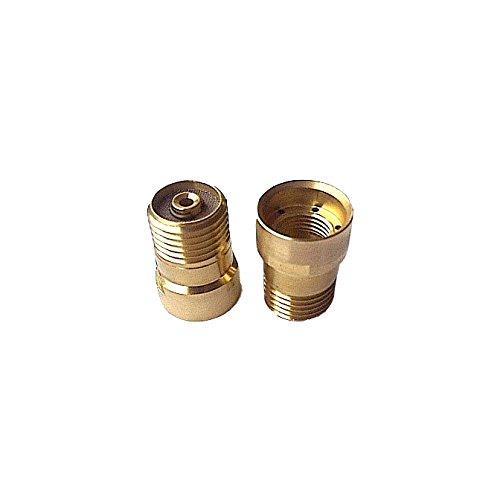 AES w.1196-gls-10masterweld klein Gas Objektiv für awt300TIG Taschenlampe, 1,0mm Durchmesser (5Stück) - Durchmesser Objektiv