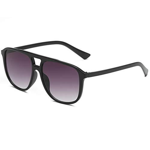 fazry Herren Damen Persönlichkeit Steampunk Sonnenbrille Retro Brille Brillen(C)