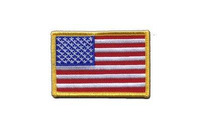 Aufnäher Patch Flagge USA - 8 x 6 cm -