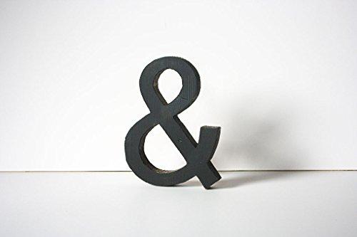 Schönes &-Zeichen in schwarz Gr. S -