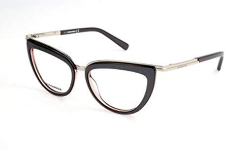 Dsquared2 Damen D Squared DQ5238 020-50-16-135 Brillengestelle, Grau, 50