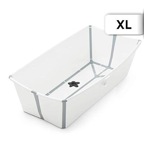 Stokke Flexi Bath XL - Badewanne für Babys, Kleinkinder & Kinder - Extrem leicht und zusammenklappbar - Farbe: XL White