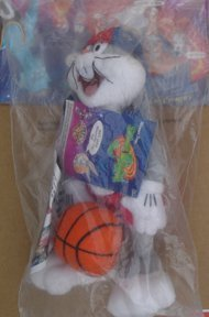 bugs-bunny-space-jam-plush-from-mcdonalds-kids-meal-unopened-package-1996-by-mcdonalds