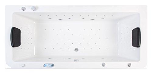 Preisvergleich Produktbild Deluxe Whirlpool OMEGA ULTRA 200 mit LED-Beleuchtung 200x90x61 cm