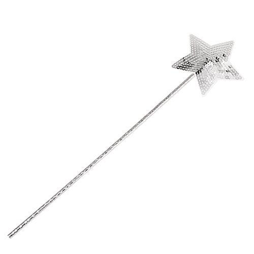 MagiDeal Plástico Sequin Estrella Princess Wand...