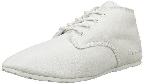 Eleven Paris Basmono, Chaussons montants Doublé Chaud mixte adulte Blanc (White)
