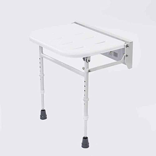 NRS Healthcare - Sedia da doccia, pieghevole, con gambe, alluminio
