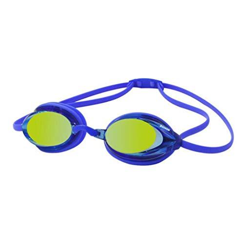 TD Schwimmbrille Professionel Schwimmspiegel Taucherbrillen Wasserdicht Anti Nebel (Farbe : D)