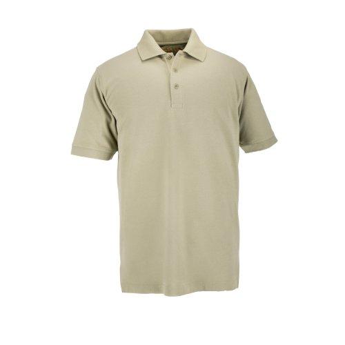 5.11Tactical # 41060t kurz Ärmel Hoch Profi Polo Shirt, Herren, Silver Tan (Tan T-shirt Besticktes)
