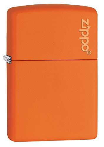 Zippo 2002676 Feuerzeug 231 Matte Logo, orange