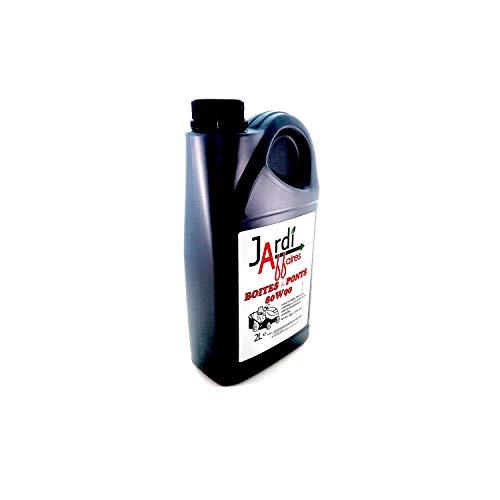 Olio professionale per trasmissione 80W90 GL5 Jardiaffaires 2 lit