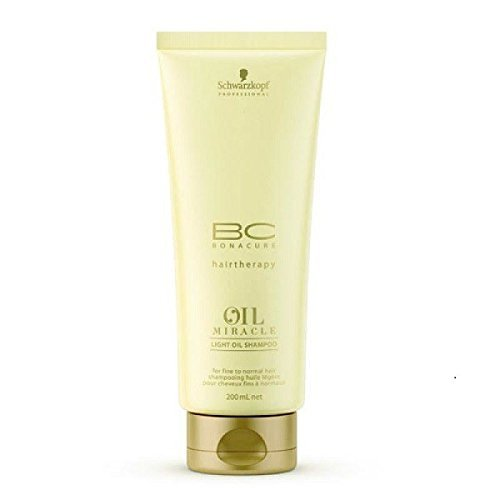 Schwarzkopf Bc Oil Miracle Light Shampoo - 200 ml