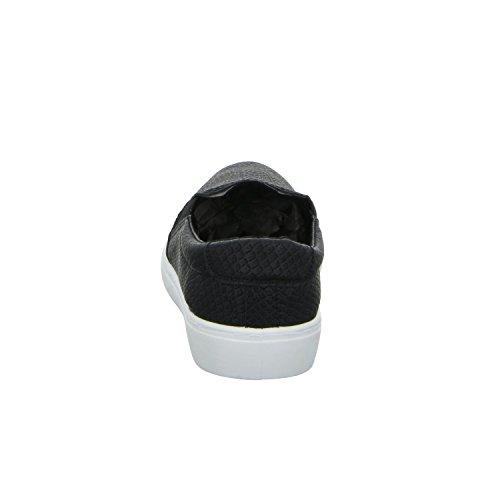 Con Unici Nero Bianco Pep Mocassini Rettili In nero Colore Ottico Passo Poca Donna Di HqwpSZg