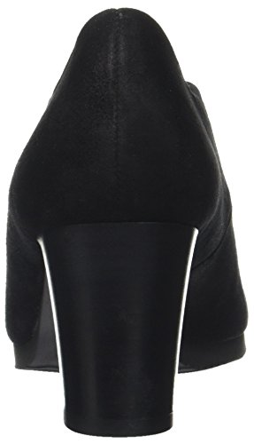 Gabor Damen Comfort Fashion Pumps Schwarz (47 schwarz (Fu rot))