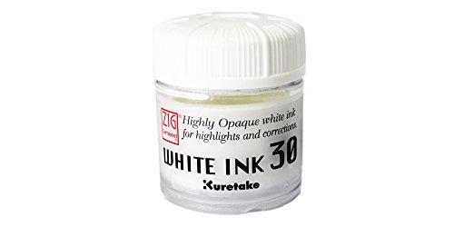 Inchiostro Bianco Kuretake Zig per Disegno Manga - White Ink 30
