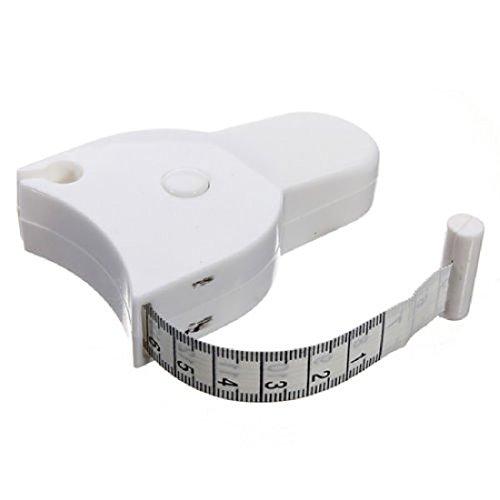 Fitness Maßband Calibrador Körper Gewichtsverlust Maßnahme Retractable Lineal Zubehör 150cm 1 stücke